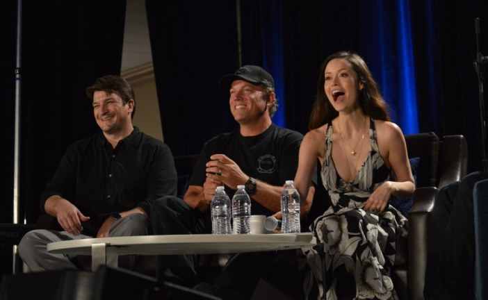 Con-versations: Nathan Fillion and Crew Still 'Aim to Misbehave' at Chicago's Wizard World